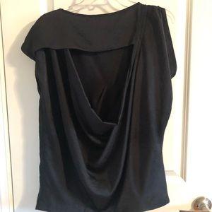 Michael Kors Tops - Michael Kors Asymmetrical Short Sleeve Blouse
